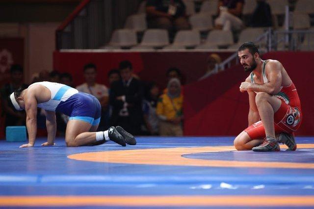 کشتی فرنگی بازی های آسیایی، حیدری به مدال برنز نرسید