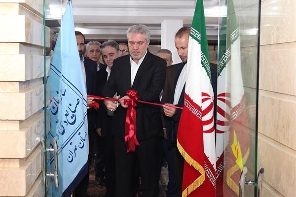 به مناسبت هفته دولت هتل آپارتمان آنامیس تهران با حضور مونسان افتتاح شد