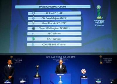 فوتبال جهان، برنامه مسابقات جام جهانی باشگاه ها تعیین شد
