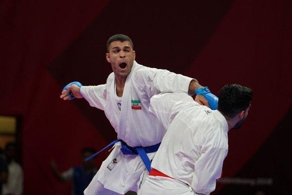 برنامه ملی پوشان کاراته ایران در روز نخست رقابتهای جهانی