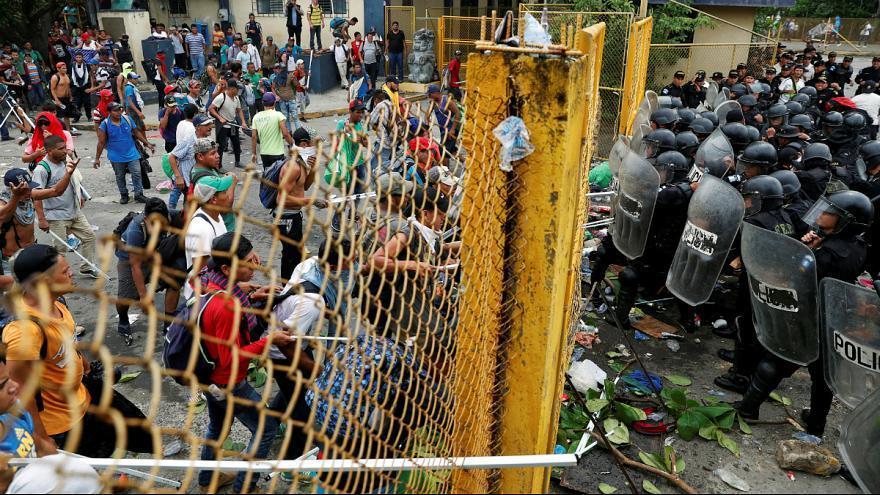 پیشنهاد مکزیک برای اعزام نیروهای گارد ملی به مرز گواتمالا