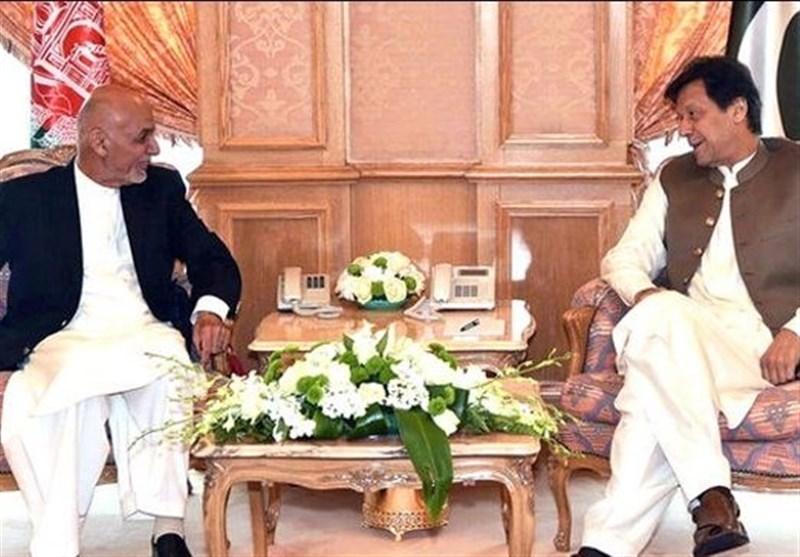 ملاقات رئیس جمهور افغانستان با عمران خان