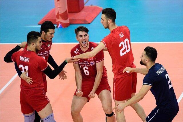 صعود جوانان والیبال ایران به دور دوم مسابقات جهانی با برد چک